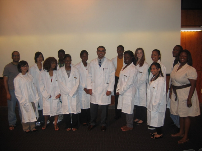 SMP PSOM White Coat Ceremony
